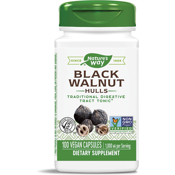 Natures Way, Black Walnut 100 caps