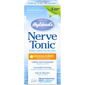 Nerve Tonic 100 tabs by Hylands