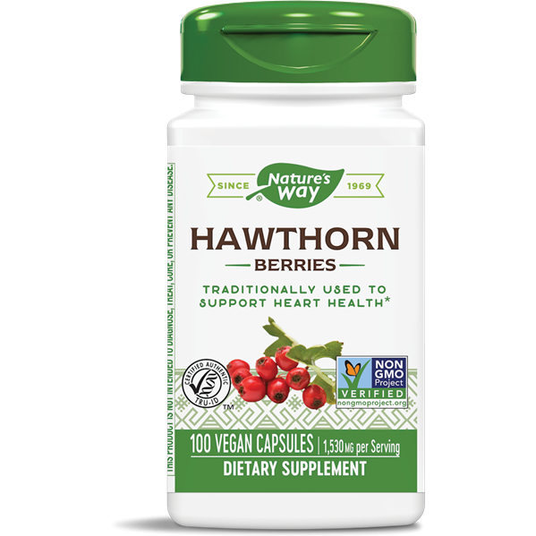Hawthorn Berries 100 caps by Nature's Way