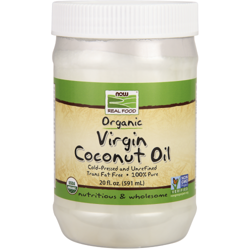 NOW, Virgin Coconut Oil 20 fl oz