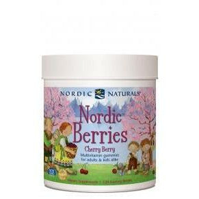 Nordic Berries Cherry Berry By Nordic Naturals