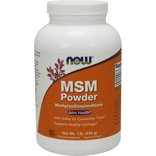 NOW, MSM Powder 1 lb
