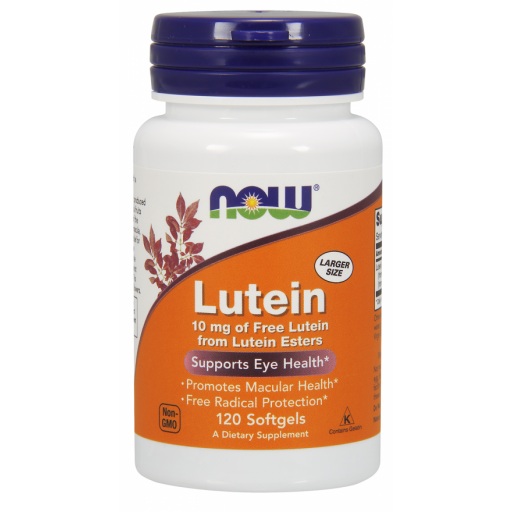 NOW, Lutein Esters 120 softgels