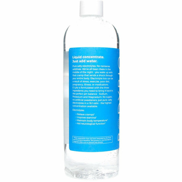 Balanced Electrolyte Concentrate 16 oz by BodyBio Product information Label