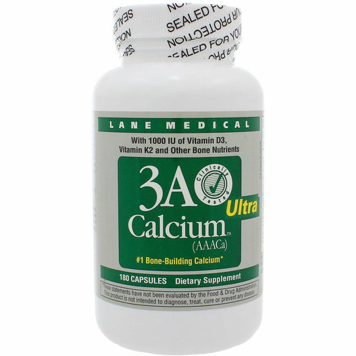 LaneInnovative (formerly Lane Labs), 3A Calcium Ultra 180 caps
