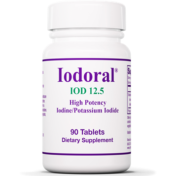 Iodoral 12.5 mg 90 tabs by Optimox