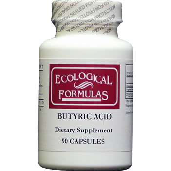 Ecological Formulas, Butyric Acid 2:1 Ratio 90 Caps