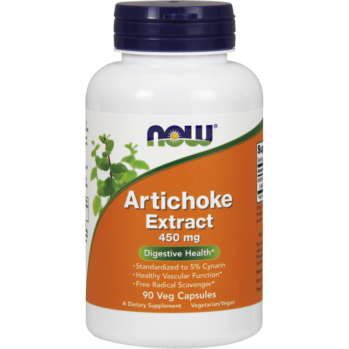 Artichoke Extract 450 mg 90 vcaps by NOW