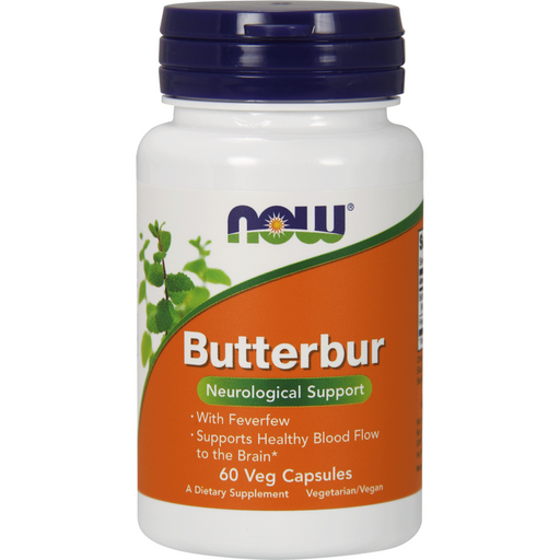NOW, Butterbur 75 mg 60 vcaps