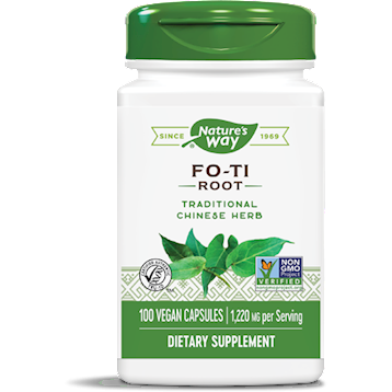Fo-Ti Root 610 mg 100 caps by Nature's Way