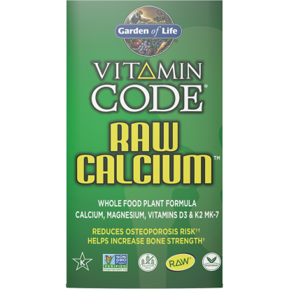Garden of Life, Vitamin Code Raw Calcium 120 vegcaps