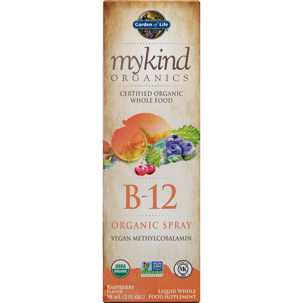 B-12 Spray Organic Vegan 2 oz by Garden Of Life