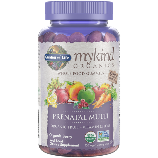 Mykind Prenatal Multi-Berry 120 Gummy by Garden Of Life