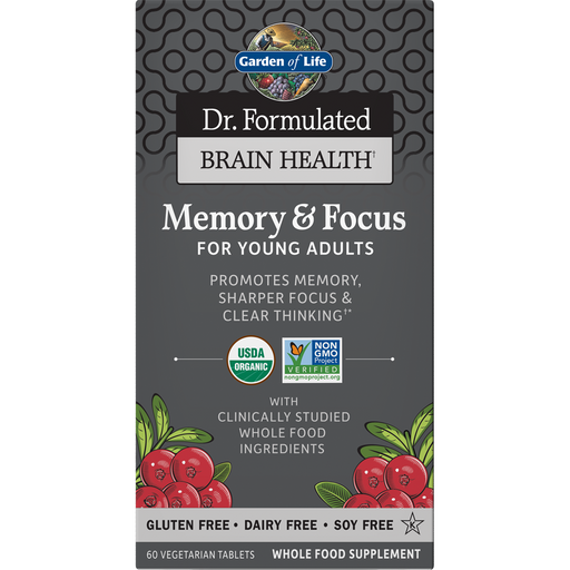 Dr. Formulated Memory & Focus Young Adults By Garden Of Life