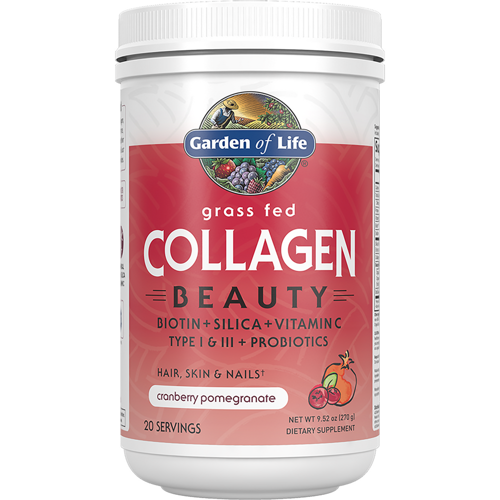 Collagen Beauty Cran/Pom By Garden Of Life