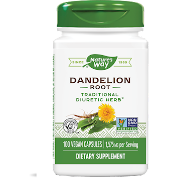 Dandelion Root 525 mg 100 caps by Nature's Way