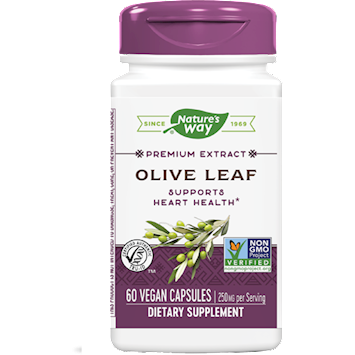 Olive Leaf 250 mg  60 caps by Nature's Way