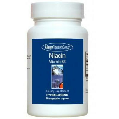 Niacin Vitamin B3 250 mg 90 caps by Allergy Research Group