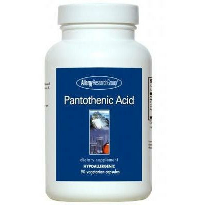 Allergy Research Group, Pantothenic Acid 500 mg 90 caps