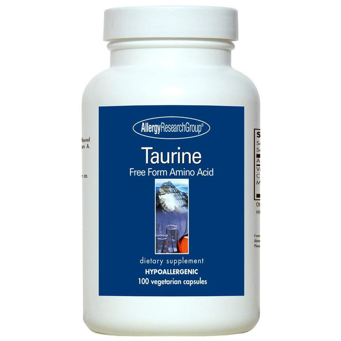 Allergy Research Group, Taurine 500 mg 100 caps