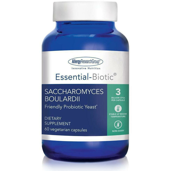 Allergy Research Group, Essential-Biotic Sacch Boulardii 60 Caps