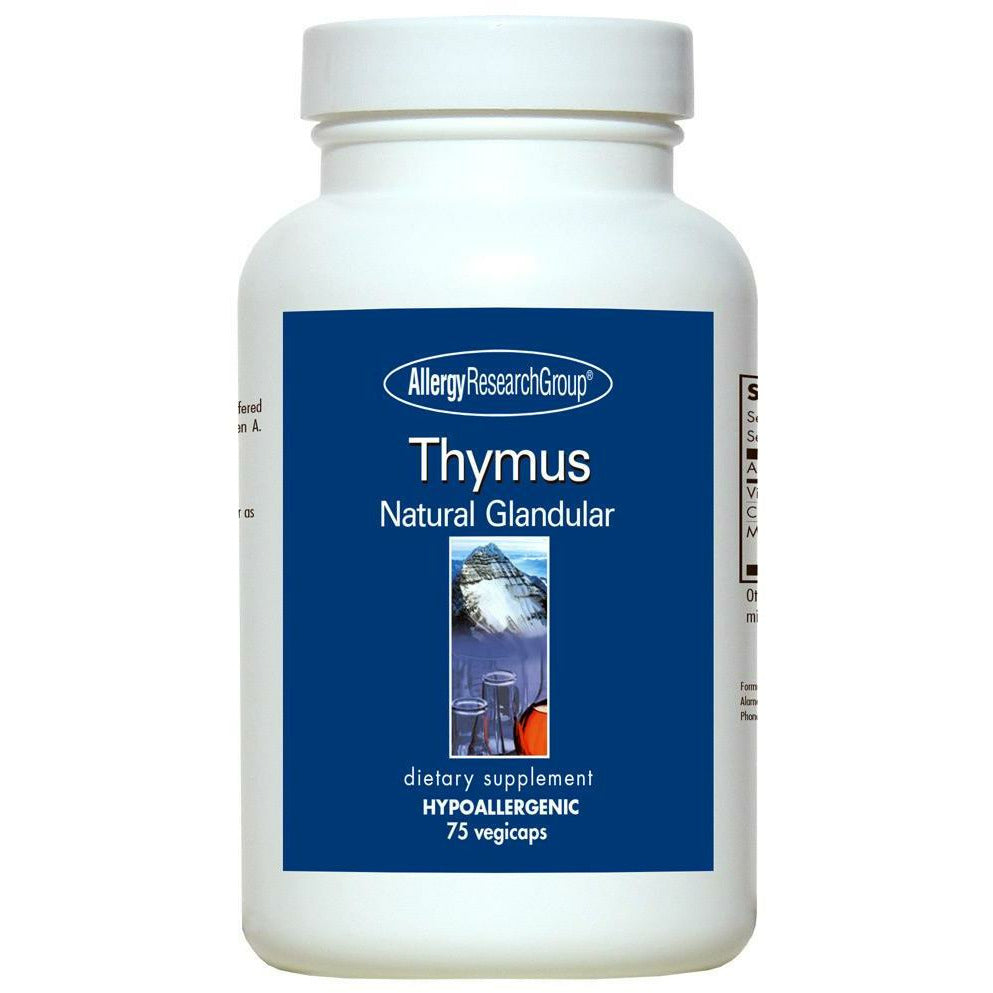 Allergy Research Group, Thymus 1000 mg 75 caps