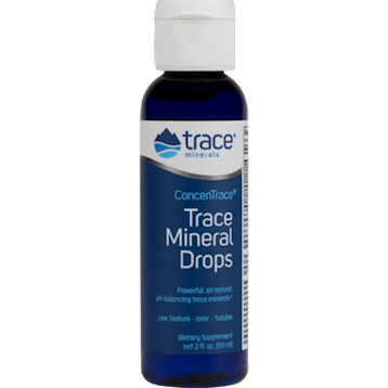 ConcenTrace Trace Mineral Drops 2 fl oz by Trace Minerals Research