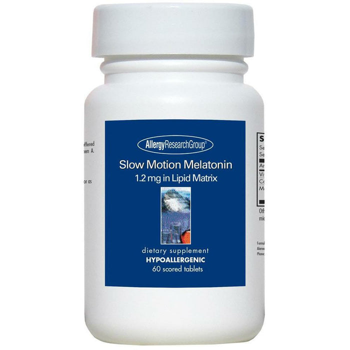 Allergy Research Group, Slow Motion Melatonin 1.2mg 60 tabs