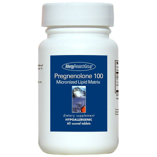 Allergy Research Group, Pregnenolone 100 mg 60 tabs