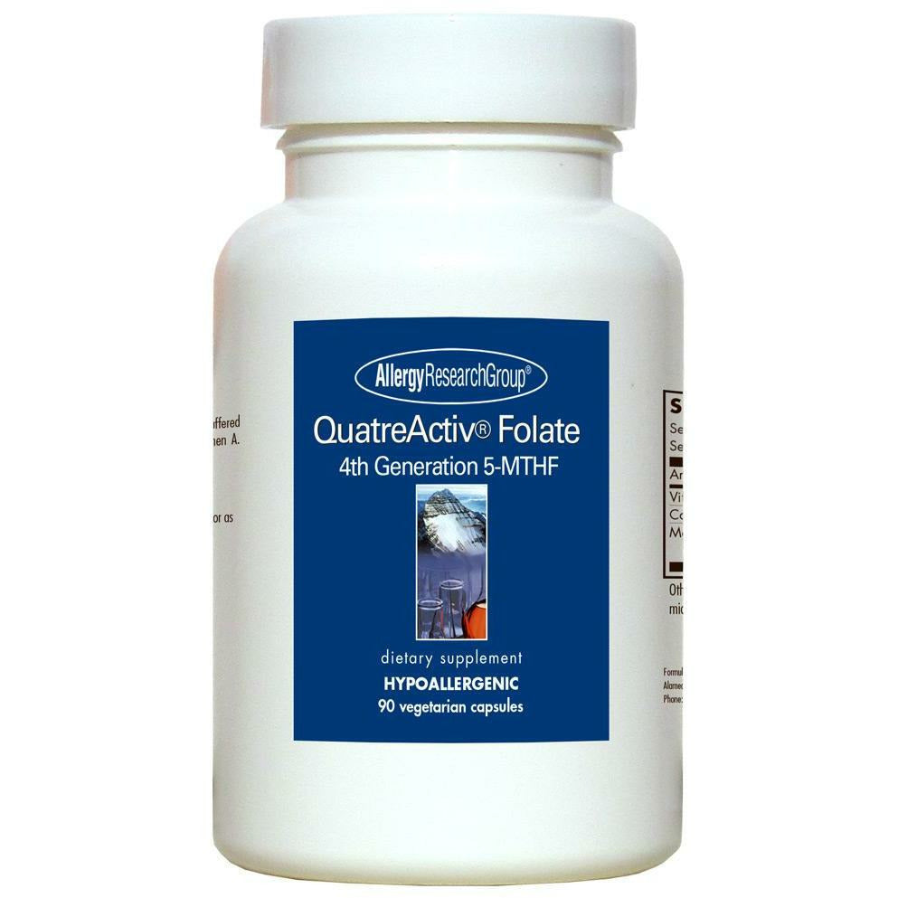 Allergy Research Group, QuatreActiv Folate 90 vcaps