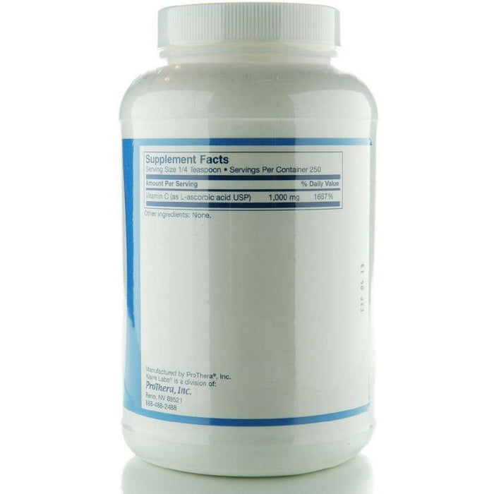 Vitamin C Powder 250 g (250 Servings) by Klaire Labs
