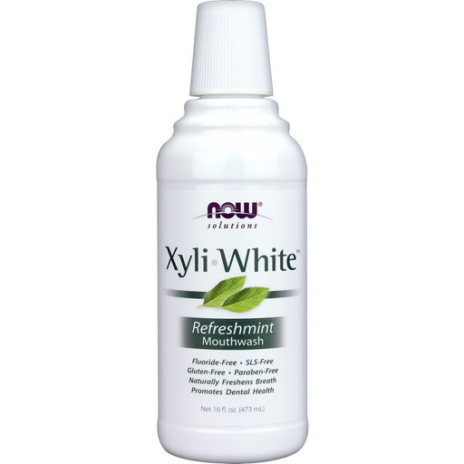 NOW, XyliWhite Mouthwash 16 fl oz