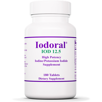 Iodoral 12.5 mg 180 tabs by Optimox