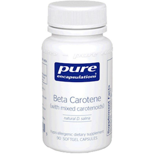 Pure Encapsulations, Beta Carotene 25000 IU 90 gels