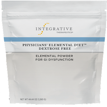 Integrative Therapeutics, Physicians' Elemental Diet Dextrose Free