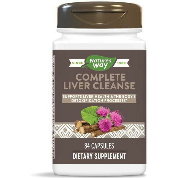 Natures Way, Complete Liver Cleanse*84 caps