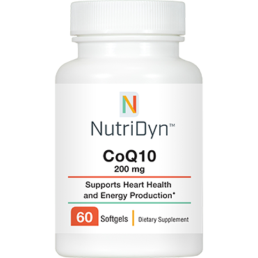 Nutri-Dyn, CoQ10 200 mg 60 Softgels
