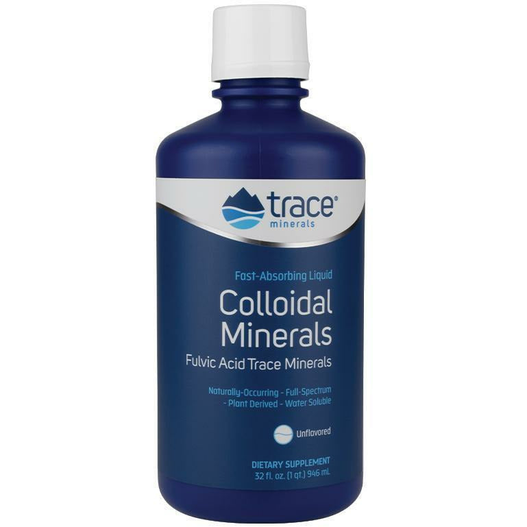 Trace Minerals Research, Colloidal Minerals 32 servings