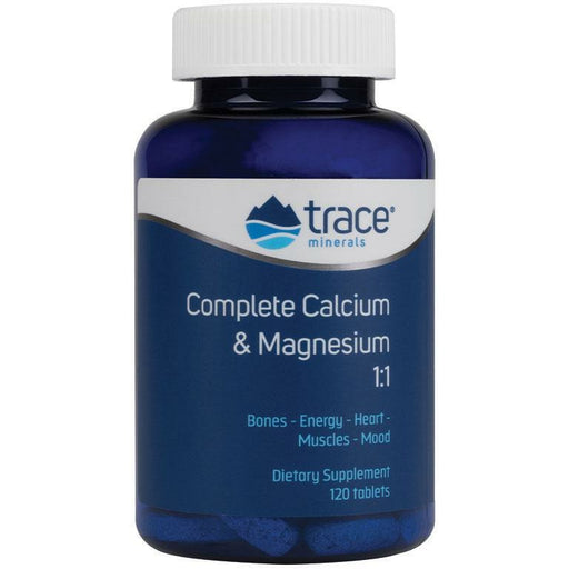 Trace Minerals Research, Complete Cal/Mag 1:1 120 tabs