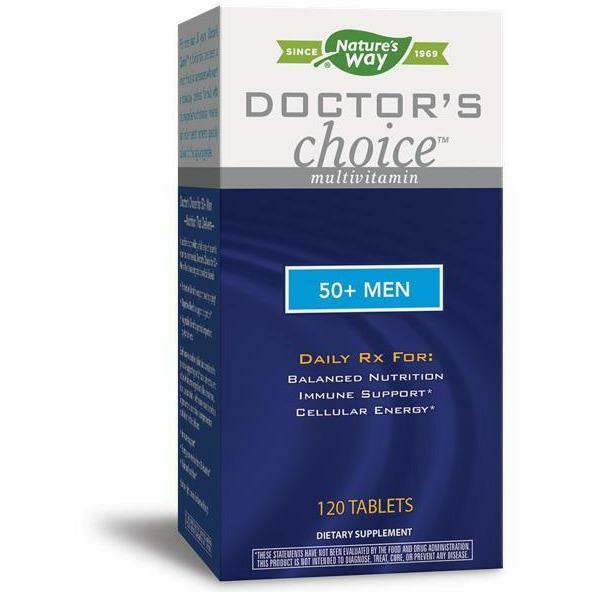 Natures Way, Doctor's Choice 50+ Men 120 tabs