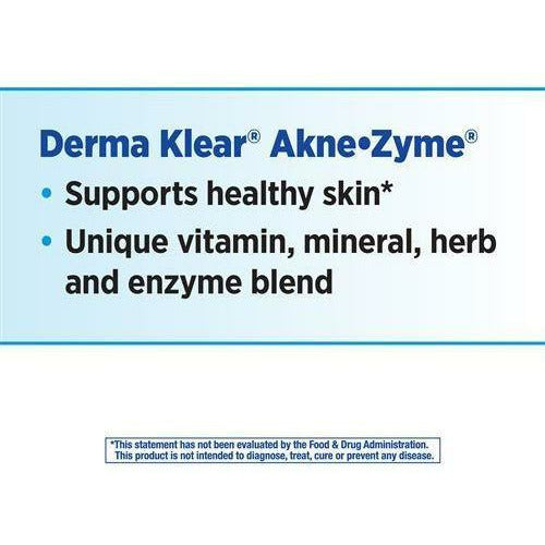 Derma Klear AkneZyme 90 caps by Nature's Way