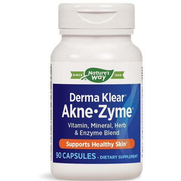 Natures Way, Derma Klear AkneZyme 90 caps