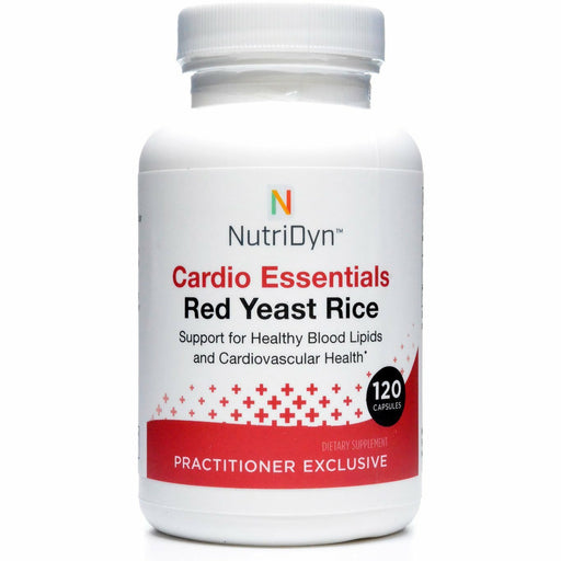Nutri-Dyn, Cardio Essentials Red Yeast Rice 120 Capsules