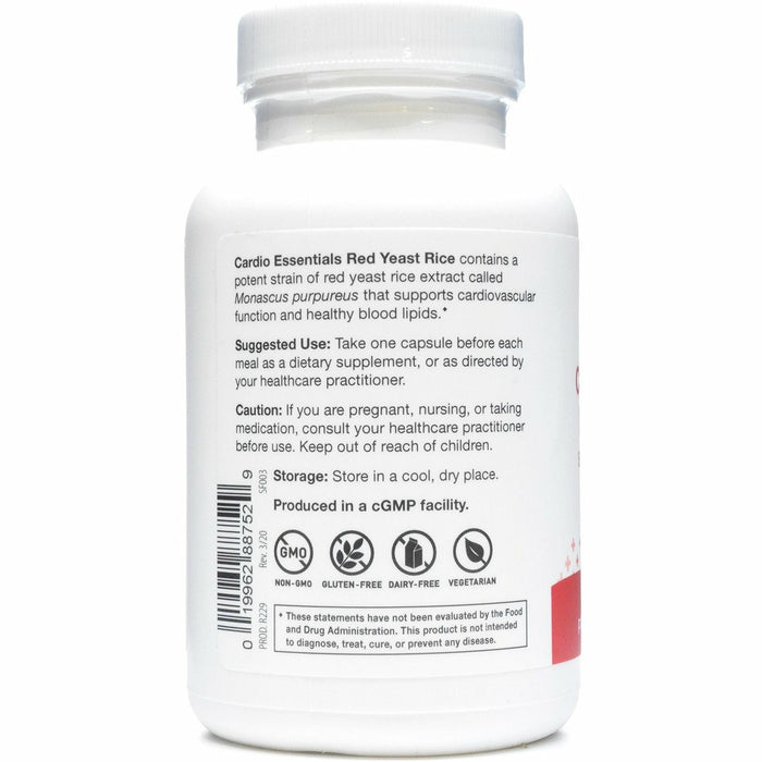 Red Yeast Rice 120 Capsules by Nutri-Dyn