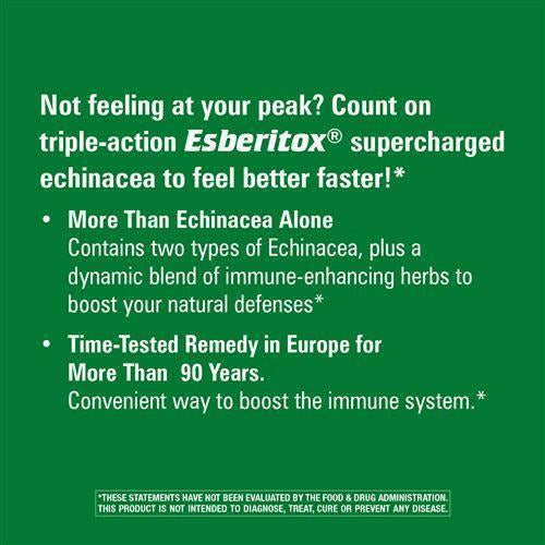 Esberitox Supercharged Echinacea 200 chew by Nature's Way