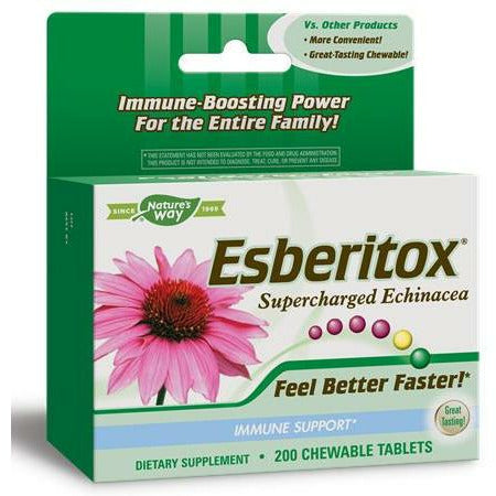 Natures Way, Esberitox Superchrgd Echinacea 200 chew
