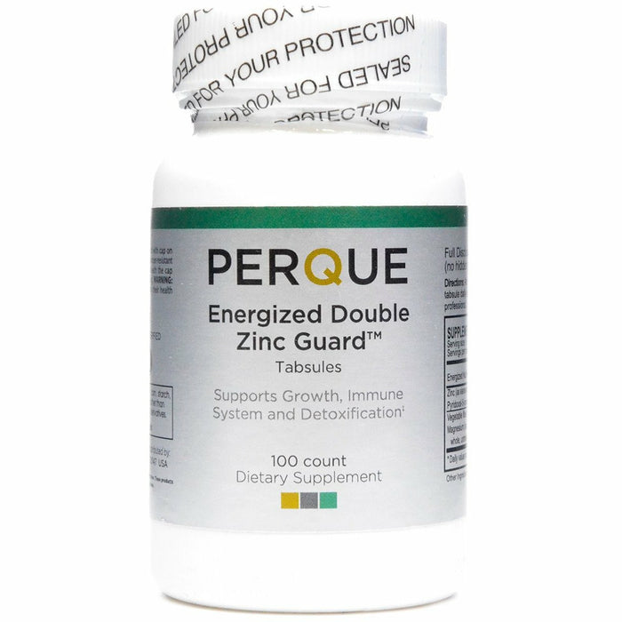 PERQUE, Energized Double Zinc Guard 100 tabs