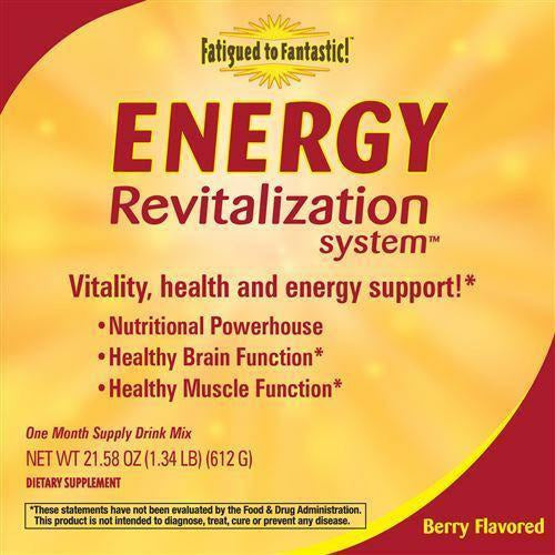 Fatigued to Fantastic! Energy Revitalization System Berry 30 day by Nature's Way