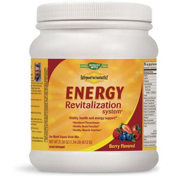 Natures Way, Fatigued/Fantastic Energy Berry 30 day