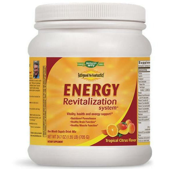 Natures Way, Fatigued/Fantastic Energy Citrus 30 day